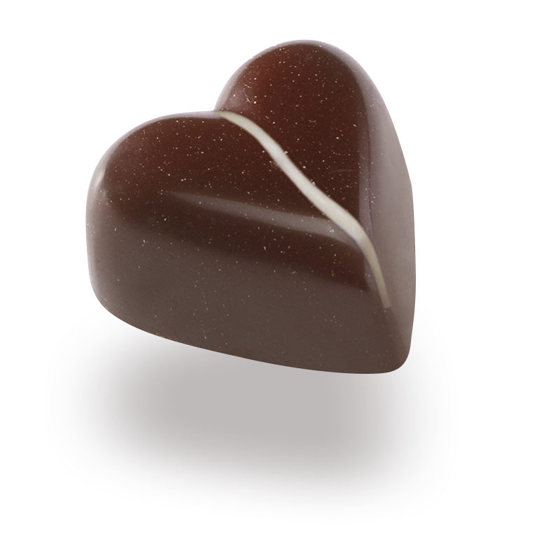 Bonboniera - Čokoladne praline Lucifer Chocolate - Kokosov srček