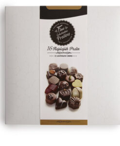 Bonboniera Lucifer Chocolate Classic 4x4, 16 čokoladnih pralin