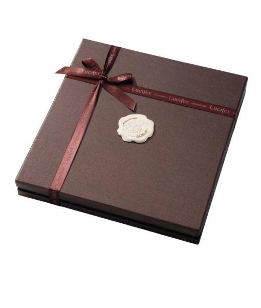 Bonboniera Lucifer Chocolate Lux 5x5, 25 čokoladnih pralin