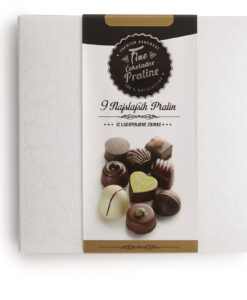 Bonboniera Lucifer Chocolate Classic 3x3, 9 čokoladnih pralin