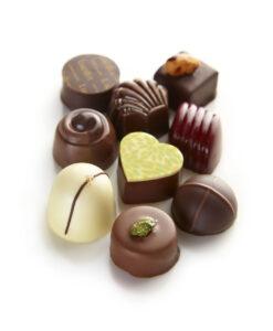 Bonboniera Lucifer Chocolate Classic 3×3, 9 čokoladnih pralin