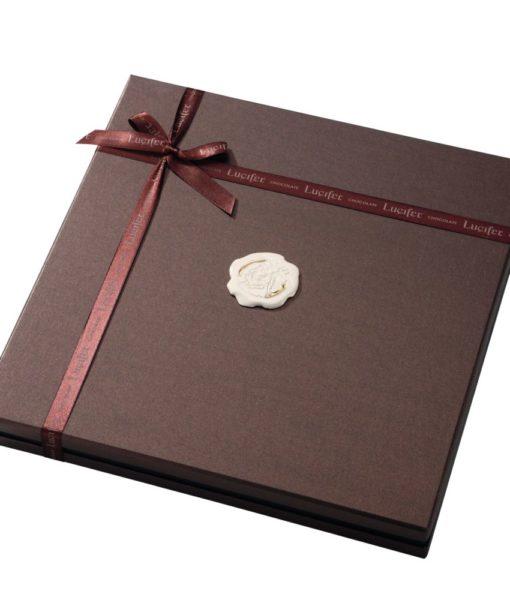 Bonboniera Lucifer Chocolate Lux 8x8 - 64 čokoladnih pralin