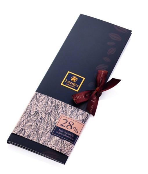 Bela čokolada 28 % Belo čokoladno pismo