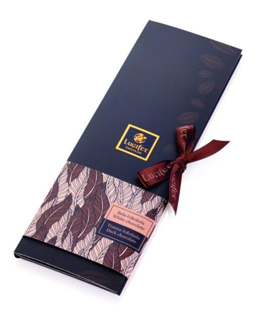 Temno-bela čokolada Black & White čokoladno pismo