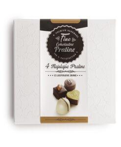 Bonboniera Lucifer Chocolate Classic 2x2, 4 čokoladne praline