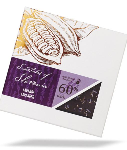 Slovenska temna čokolada s sivko - Sweetness of Slovenia, Lucifer čokolada