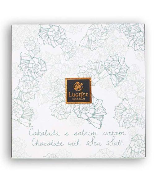 Čokoladne ploščice s solnim cvetom, 9 ploščic - Lucifer čokolada
