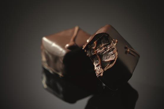 Čokoladne praline - Lucifer čokolada - ugriz