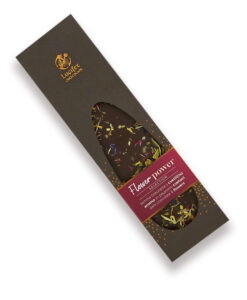 FLOWER POWER Temna čokolada 70 % s cvetlicami