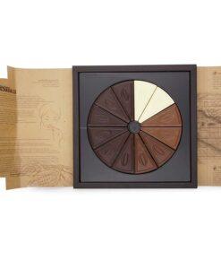 Čokolada ORIGIN SVET s temno čokolado, belo čokolado in mlečno čokolado iz Ugande, Ekvadorja, Dominikanske republike, Costa Rice, Venezuele in Vietnama