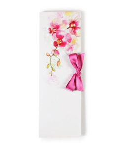 Temna čokolada čokoladno pismo Rože - ORHIDEJA