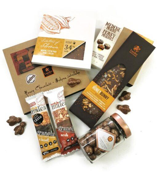 MATICA, paket medenih čokolad