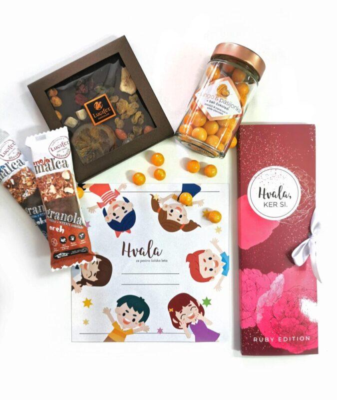 HVALA paket čokolade za pedagoge