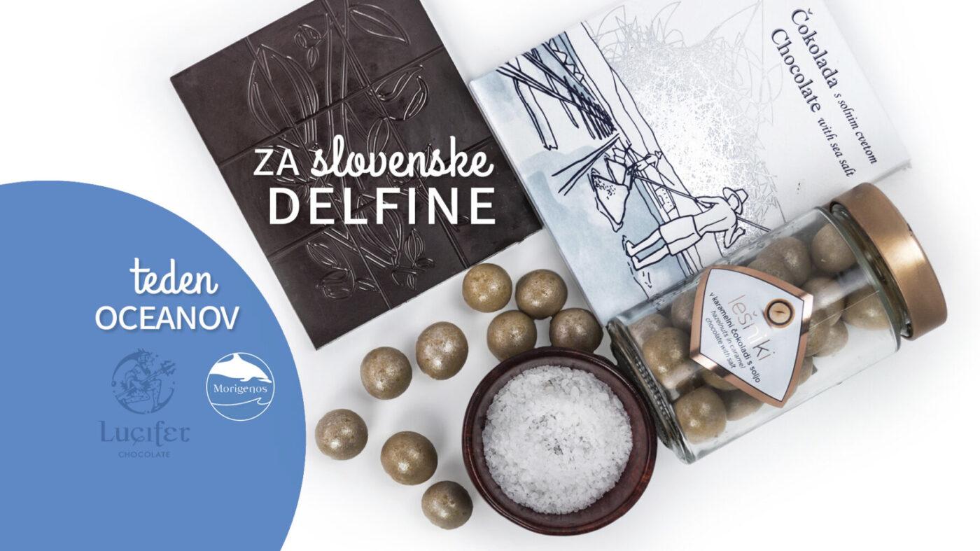 Morigenos delfini in čokolada